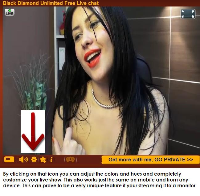 Try this feature when streaming adult webcams to a TV monitor and you will see live cams in a whole new way!